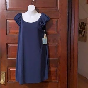 NWT CeCe Navy Blue Dress Size M